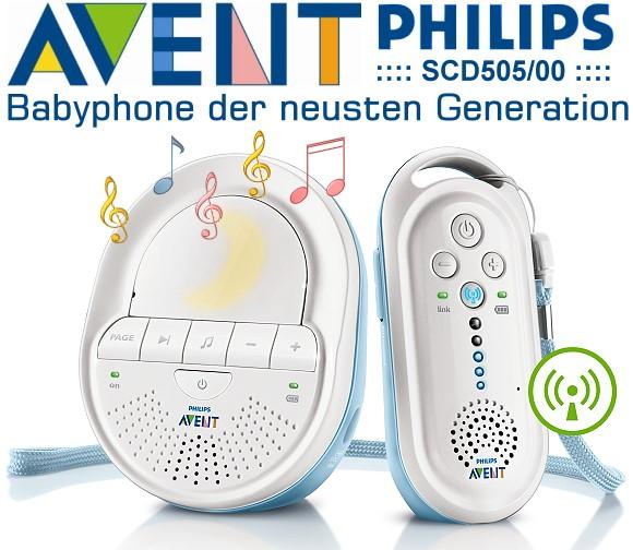 philips avent scd505 00 babyphone. Black Bedroom Furniture Sets. Home Design Ideas