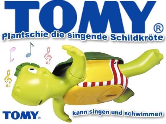 TOMY-Plantschi-die-Schildkroete-schwimmt-singt-Baby-Kinder-Badespielzeug-Neu