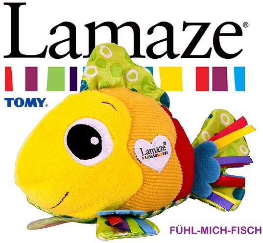 Lamaze fühl mich fisch baby spielzeug fördert tastsinn