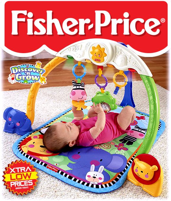 fisher price baby erlebnisdecke krabbeldecke spielbogen musik licht neu. Black Bedroom Furniture Sets. Home Design Ideas