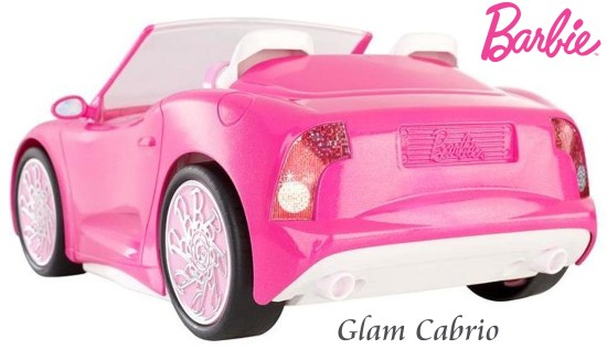 barbie glam cabrio mattel x7944 glamour auto f r barbie. Black Bedroom Furniture Sets. Home Design Ideas