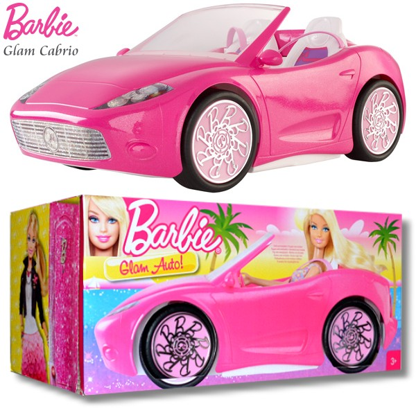 barbie glam cabriolet mattel x7944 glamour voiture pour barbie poup e produit neuf ebay. Black Bedroom Furniture Sets. Home Design Ideas