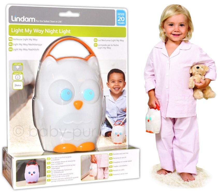 lindam nachtlicht einschlafhilfe f r baby kleinkind einschlaflicht tragbar. Black Bedroom Furniture Sets. Home Design Ideas