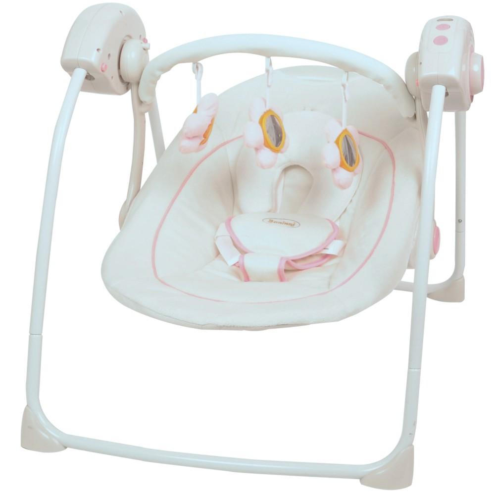 automatik babyschaukel von baninni automatische elektrische baby wiege wippe neu ebay. Black Bedroom Furniture Sets. Home Design Ideas