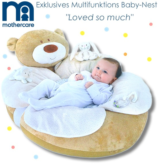 mothercare baby nestchen erlebnisdecke krabbeldecke spieldecke b r design nest ebay. Black Bedroom Furniture Sets. Home Design Ideas