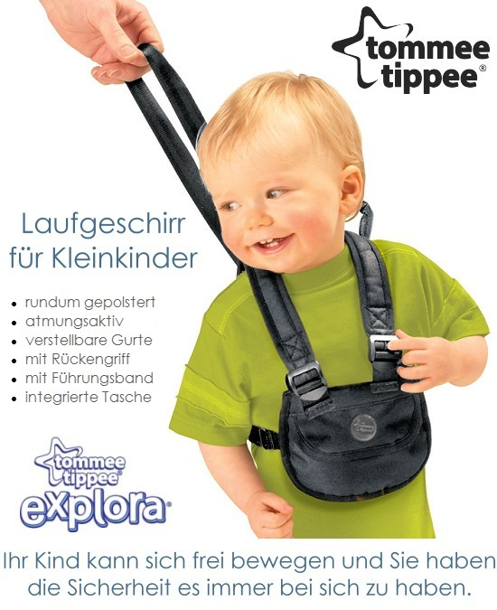 tommee tippee laufgeschirr f r kleinkinder laufgurt laufleine kinder baby ebay. Black Bedroom Furniture Sets. Home Design Ideas