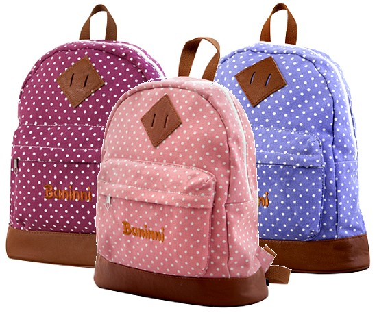 baninni kinder rucksack dotty ab 3 jahre kindergarten tasche m dchen jungen neu ebay. Black Bedroom Furniture Sets. Home Design Ideas