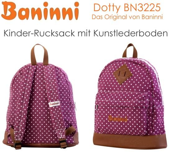 Baninni kinder rucksack dotty ab jahre kindergarten
