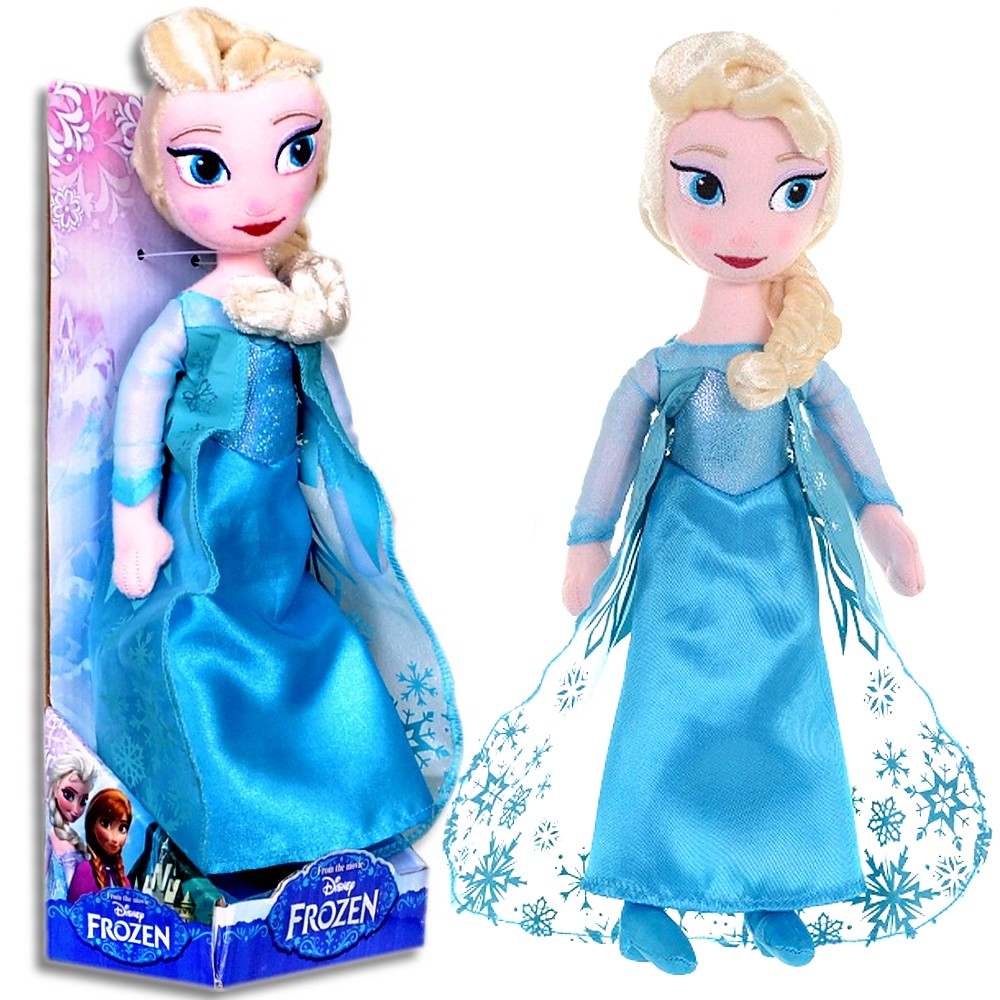 anna und elsa puppe aus die eisk nigin disney frozen stoffpuppe soft 28cm neu ebay. Black Bedroom Furniture Sets. Home Design Ideas