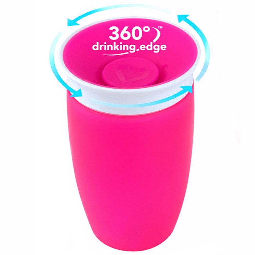 munchkin 360 kinder trinkflasche 296ml miracle trinkbecher auslaufsicher lern ebay. Black Bedroom Furniture Sets. Home Design Ideas