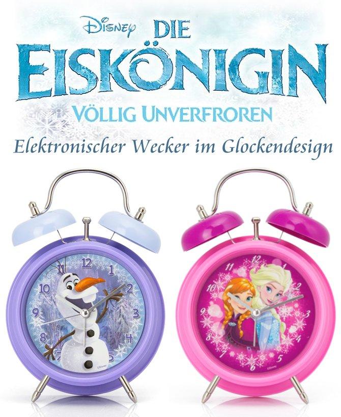 Disney die eisk nigin frozen kinder wecker 17cm - Eiskonigin zimmer ...