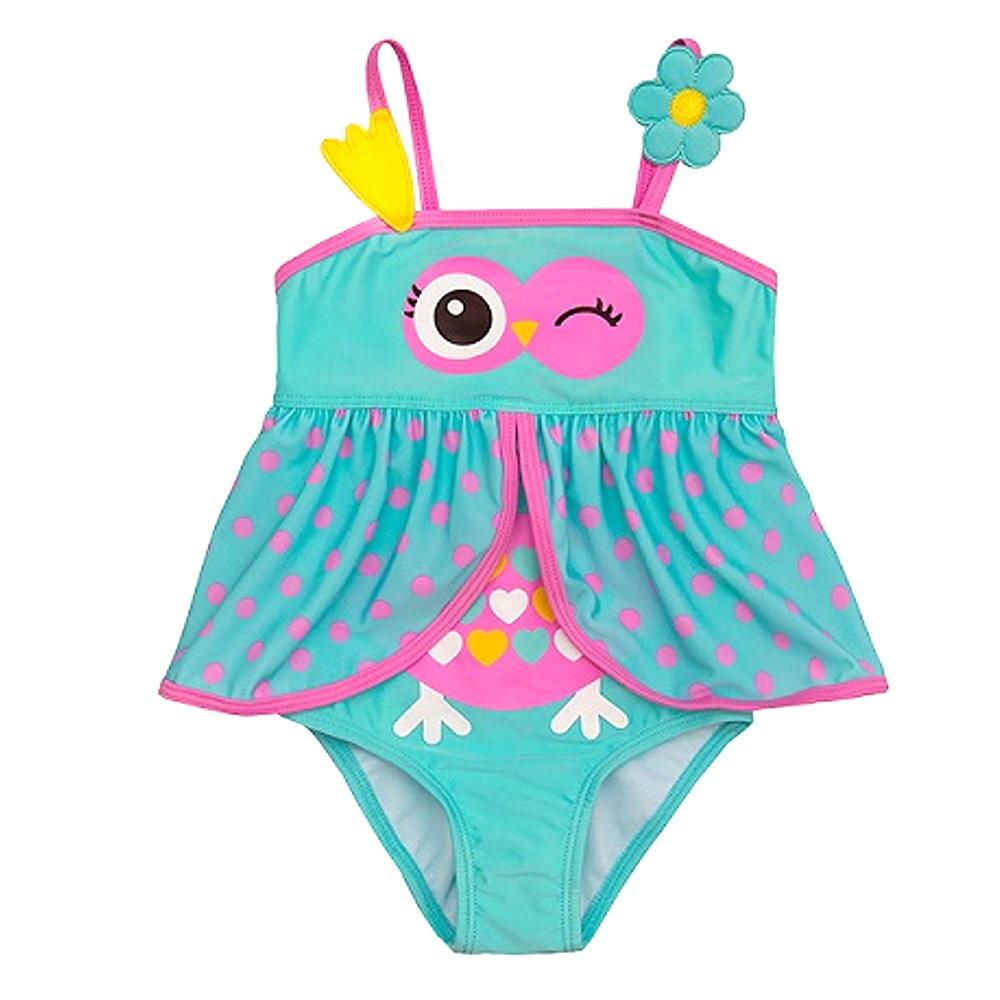 Baby und kinder badeanzug d motiv mädchen bademode