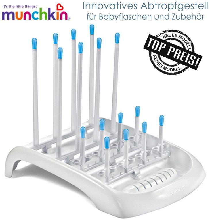 Munchkin Abtropfständer, Abtropfgestell für Babyflaschen