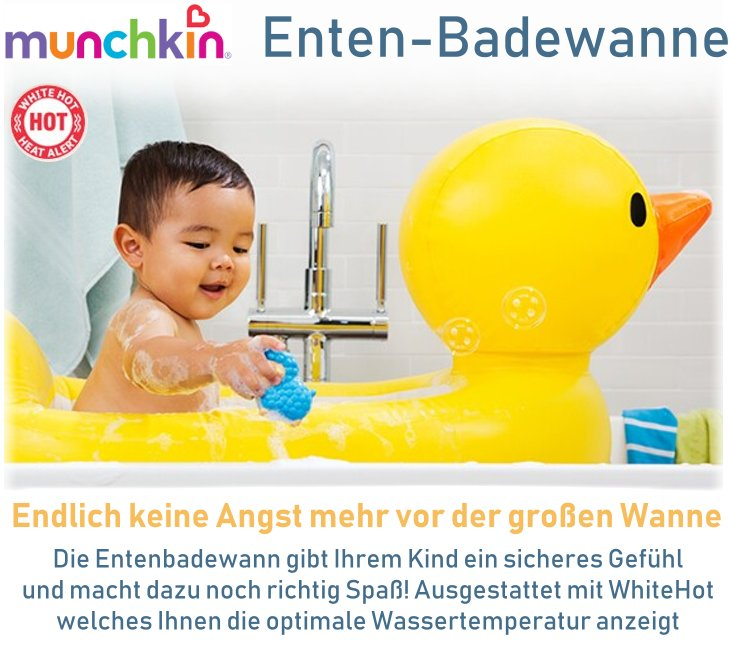 munchkin baby badewanne enten badesitz mit temperaturf hler aufblasbar reise ebay. Black Bedroom Furniture Sets. Home Design Ideas