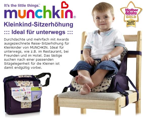 Munchkin, Sitzerhöhung, Stuhlsitz, Hochstuhl