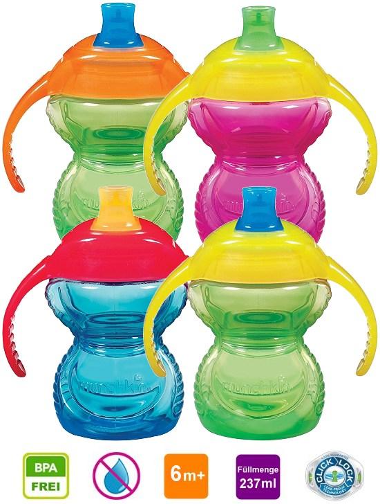 Munchkin ClickLock Trink-Lernflasche