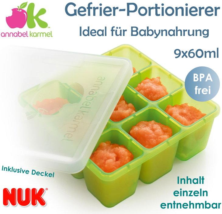 Annabel Karmel by Nuk Gefrier Portionierer für Babynahrung
