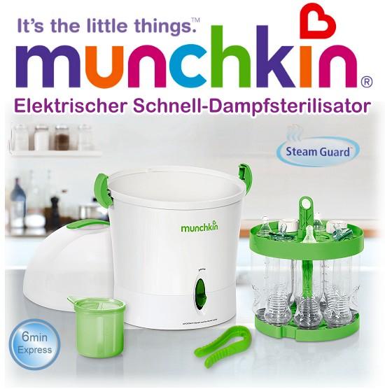 Munchkin: Elektrischer Dampf-Sterilisator