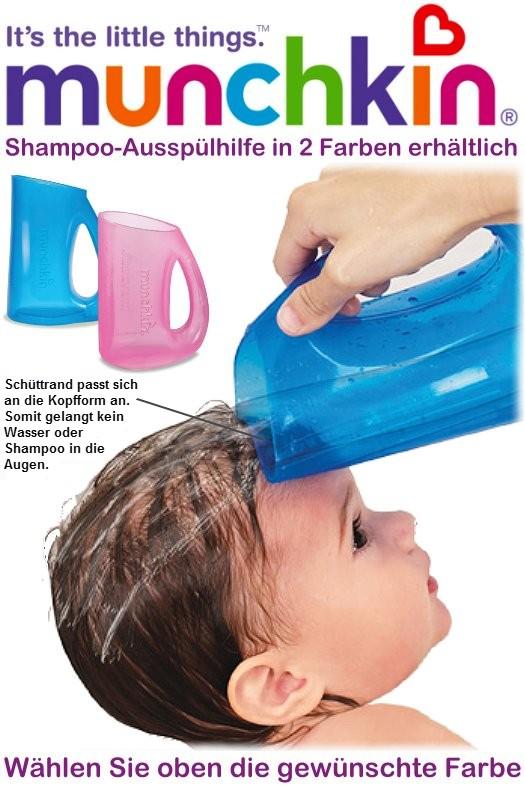 MUNCHKIN: Shampoo-Ausspülhilfe