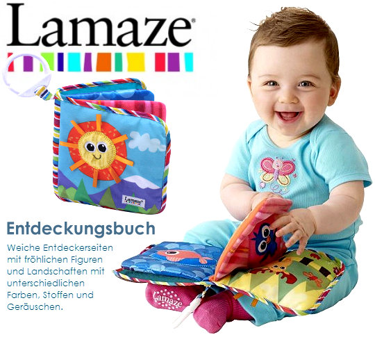 Lamaze: Entdeckungsbuch