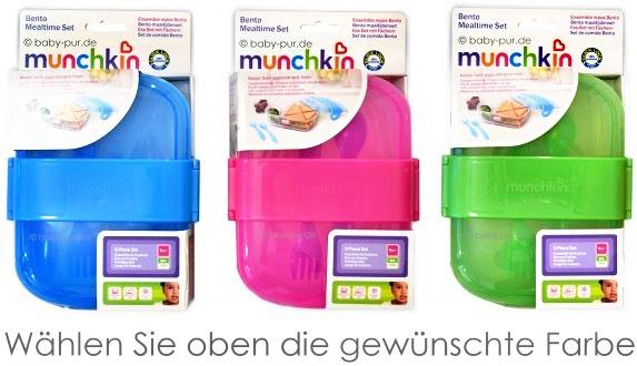 Munchkin Brotdose, Bento, Lunchbox, Mealtime Set