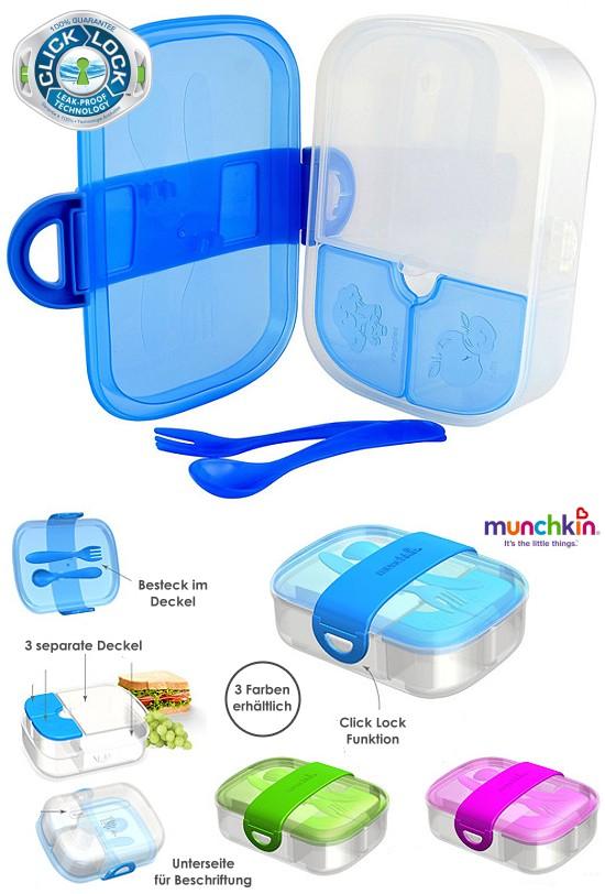 Munchkin, Lunchbox, Brotdose, Bento Click Lock
