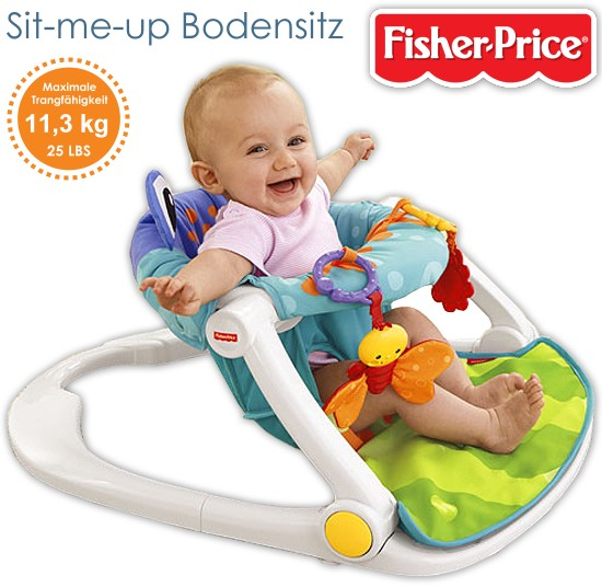 fisher price sit me up bodensitz f r baby kleinkind babysitz h ngesitz sitz. Black Bedroom Furniture Sets. Home Design Ideas