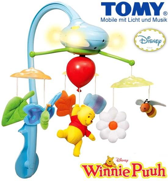 TOMY: Winnie Puuh Traumwolken Mobile