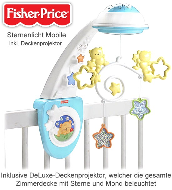 fisher price sternenlicht mobile. Black Bedroom Furniture Sets. Home Design Ideas