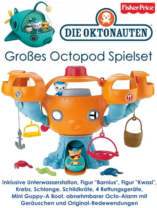 Oktonauten Octopod Playset