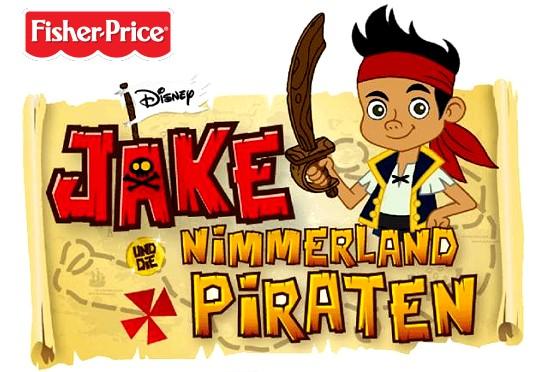 Jake und die Nimmerland Piraten Figurenset