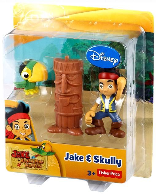 Jake und die Nimmerland Piraten Figur Skully