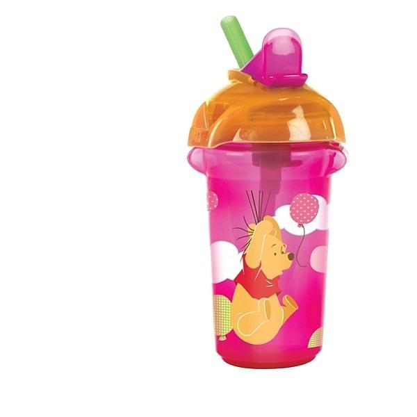 kinder trinkflasche mit strohhalm