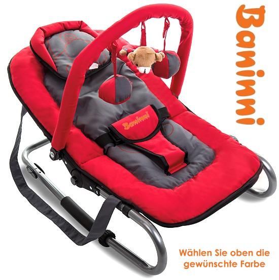 Baninni Baby Relax Hippo Babyschaukel Wippe