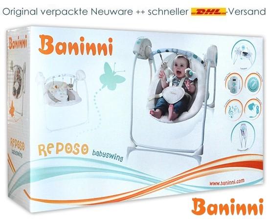 Baninni elektrische Babyschaukel Reposo
