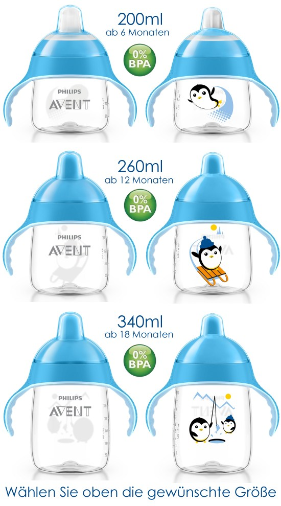 Philips Avent Becher Flasche SCF753