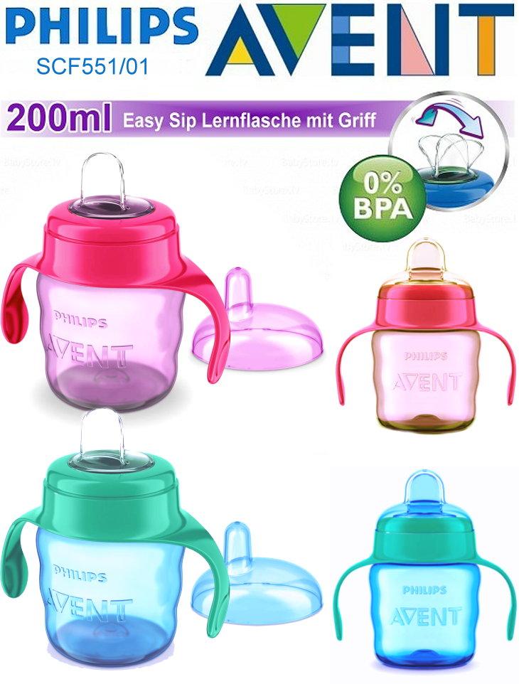 Philips Avent SCF551 Baby Lernflasche 200ml