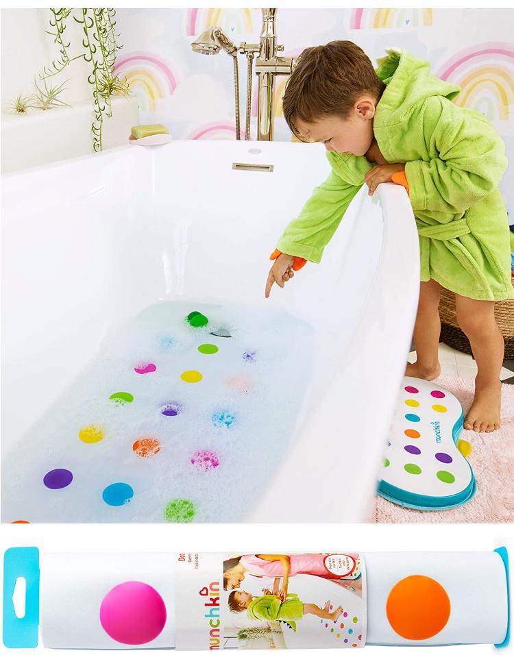 Munchkin Dandy Dots Kinder Badewannen Einlage