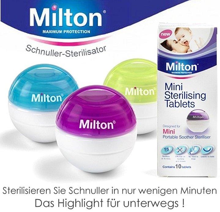 Milton Mini Schnuller Sterilisator
