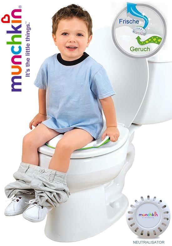 munchkin kinder wc sitz toilettentrainer. Black Bedroom Furniture Sets. Home Design Ideas