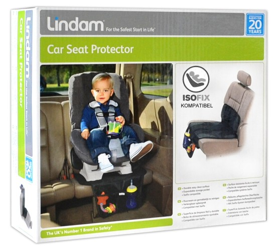 Lindam Kinder Autositzschutz für Kindersitze