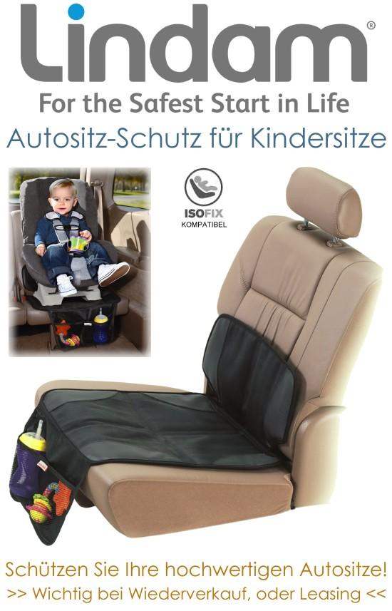 Lindam Autositzschutz für Kindersitze