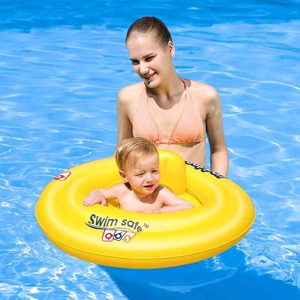 bestway baby schwimmsitz badesitz schwimmhilfe reifen sicherheits badering 0 12 ebay. Black Bedroom Furniture Sets. Home Design Ideas