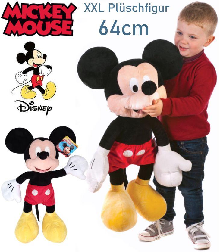 Disney Mickey Maus 64cm XXL Plüschfigur