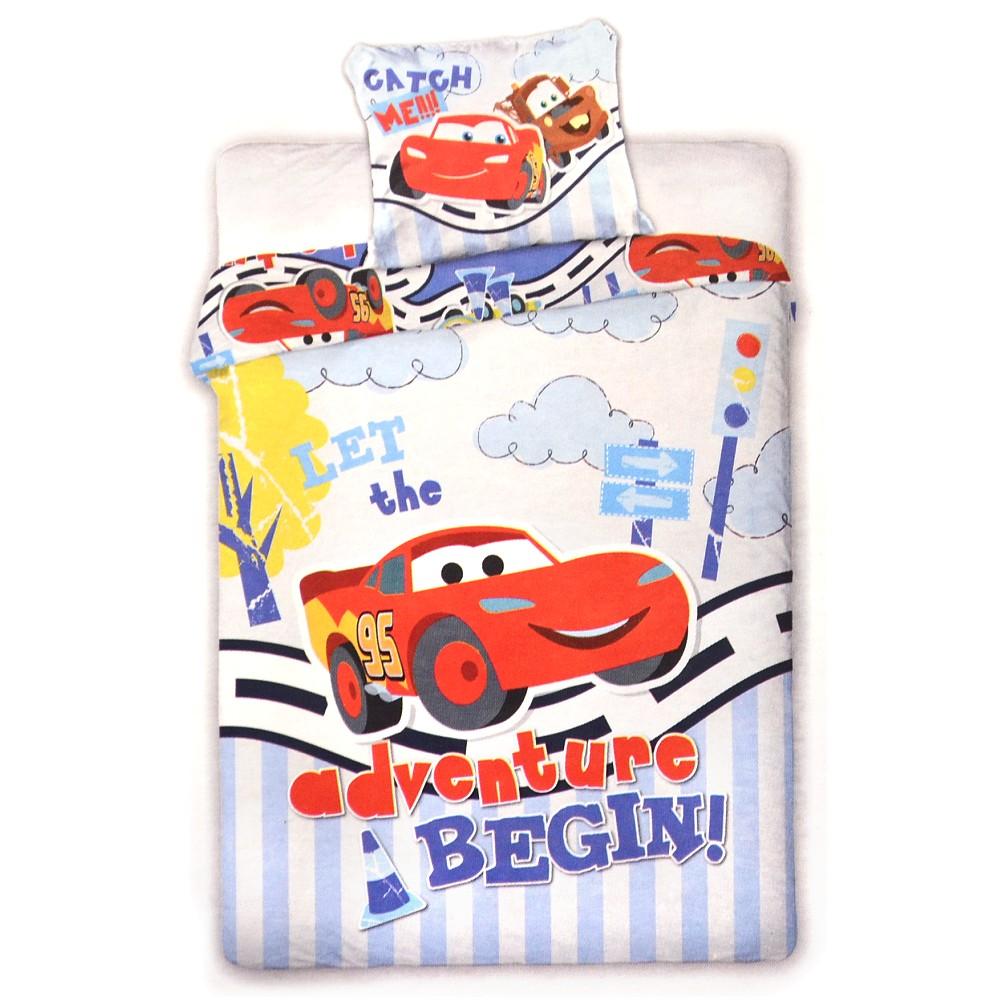Disney Baby Kinder Bettwäsche Cars Bettbezug Und Kissen 100x135