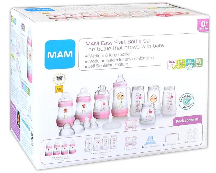 MAM: Anti-Colic Starter-Set 15-teilig Ivory
