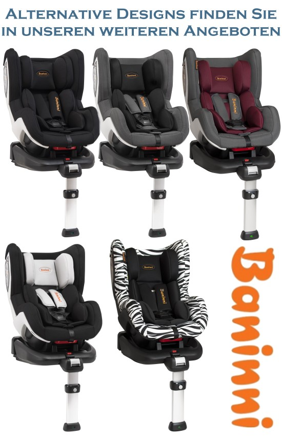 baninni isofix auto kindersitz bn3501 impero gruppe 0 1 safari baby autositz ebay. Black Bedroom Furniture Sets. Home Design Ideas