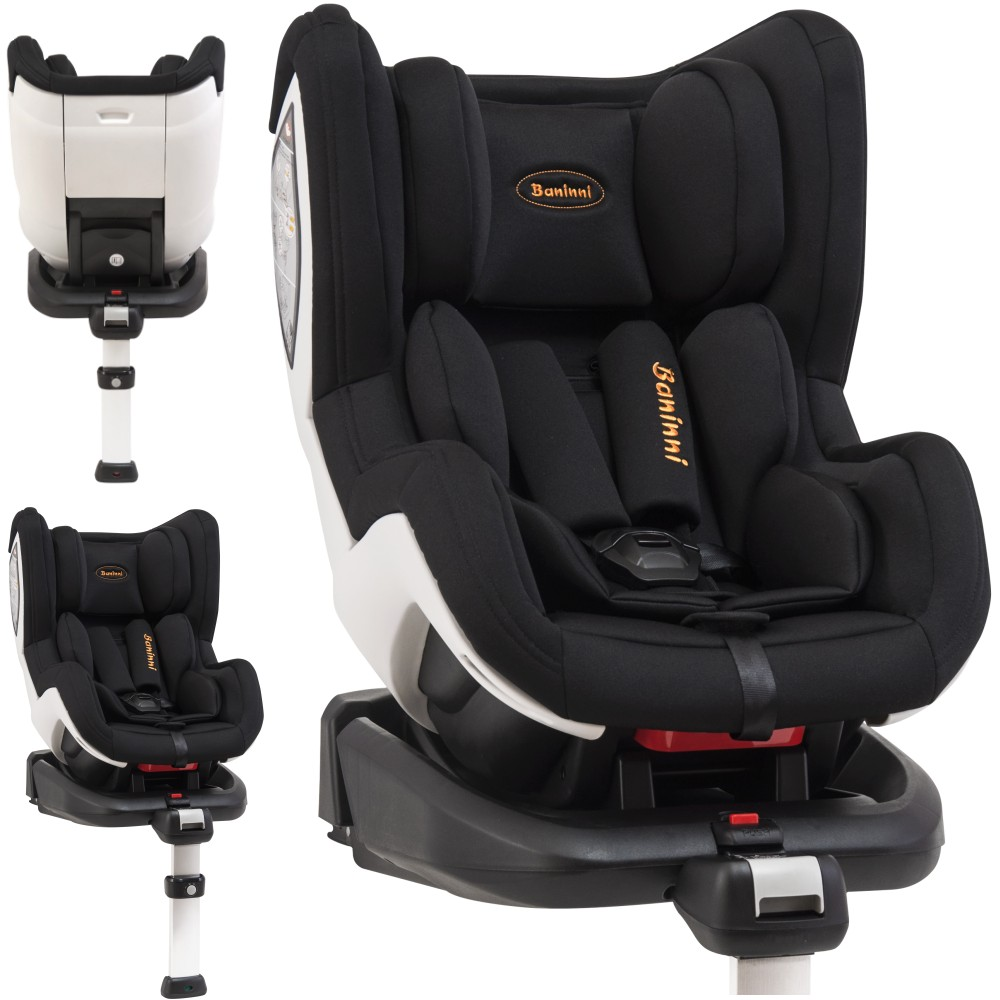 baninni isofix kindersitz bn3501 impero gruppe 0 1 schwarz. Black Bedroom Furniture Sets. Home Design Ideas