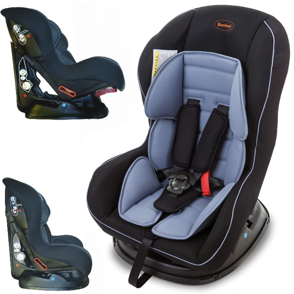 auto kindersitz baby autositz gruppe 0 1 0 18 kg baninni verstellbar schwarz neu. Black Bedroom Furniture Sets. Home Design Ideas