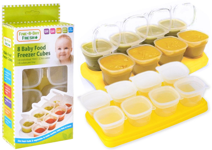 First Steps Gefrierbehälter füre Babynahrung